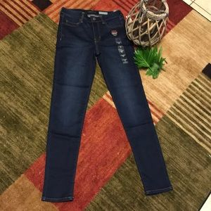 Brand new super stretch jeggings high waisted